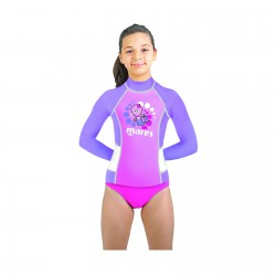 Koszulka Rash Guard KID L/Sleeve  ( UPF50+ ) GIRL